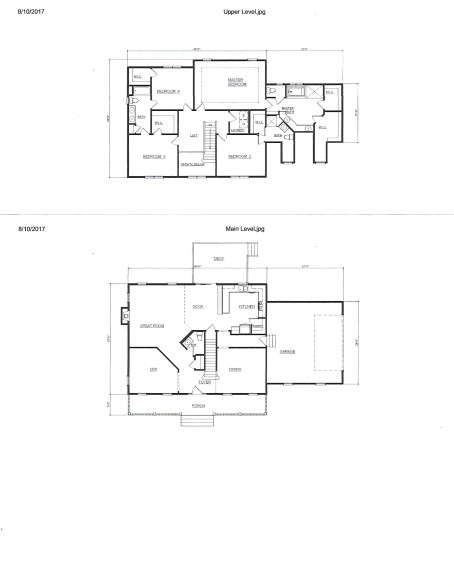 Floor plans and Kitchen Design