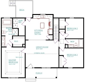 FLOOR PLAN - Main Level